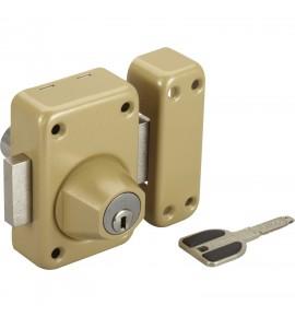 Verrou A2P* à 2 entrées Vachette Radial NT +, cylindre de 45 mm