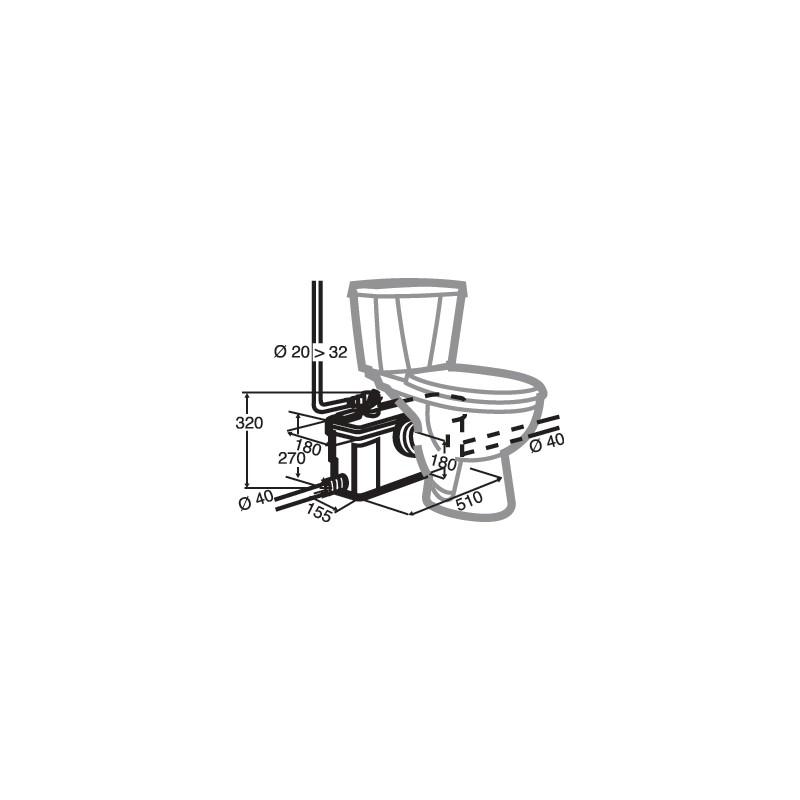 sanibroyeur plus silence sanibroyeur saniplus up sfa with sanibroyeur plus silence cheap. Black Bedroom Furniture Sets. Home Design Ideas