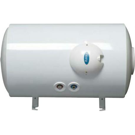 Ballon d'eau chaude électrique 100l Fleck horizontal raccordement bas