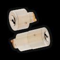 Cylindre de serrure double entrée Heracles DomKeso - Profil rond