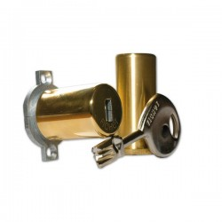 Cylindre de serrure double entrée Fichet 787 Z - Profil Rond