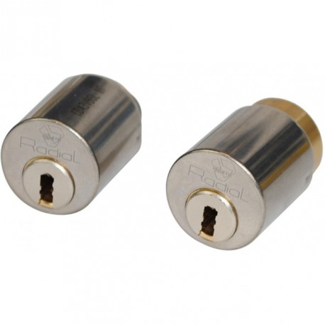 Cylindre double entrée Vachette Radial NT pour serrure Mutilock