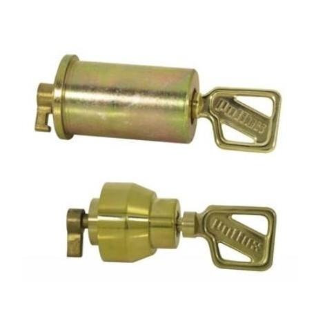 Cylindre double entrée Pollux pour serrure monopoint Pollux