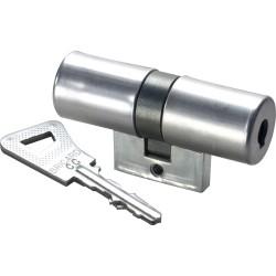 Cylindre monobloc double entrée Bricard Bloctout 33.5 X 33.5 mm