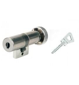 Cylindre monobloc à bouton Bricard Bloctout 33.5 X 33.5 mm