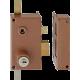 Mécanisme de serrure Héraclès MX 1000 SR 3 point adaptable Bricard