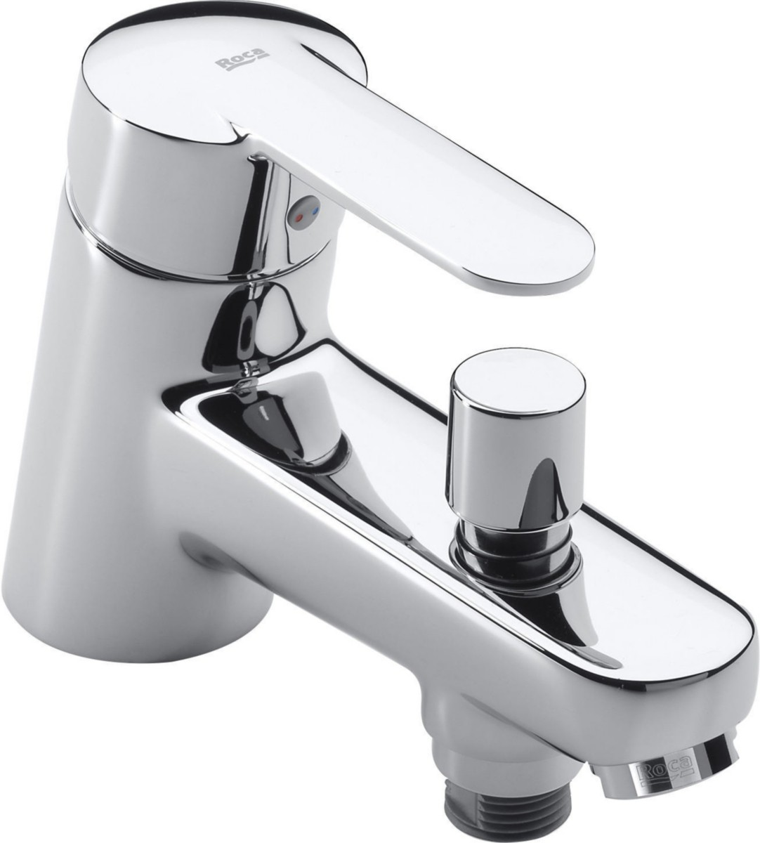 robinet mitigeur bain-douche roca victoria livré et posé sous 48h - Robinet Baignoire Avec Douchette