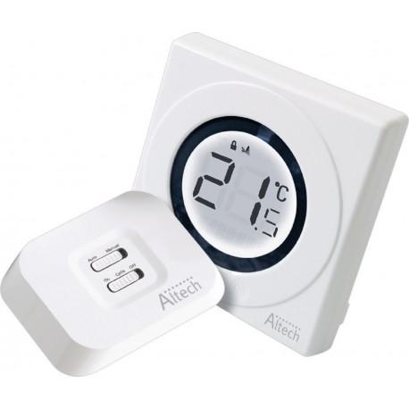 thermostat ambiance sans fil chaudiere gaz excellent horloge thermostat duambiance deville thr. Black Bedroom Furniture Sets. Home Design Ideas