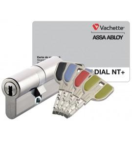 Cylindre de serrure Vachette Radial NT+ A2P*** / Profil Européen 32.5 x 32.5 mm