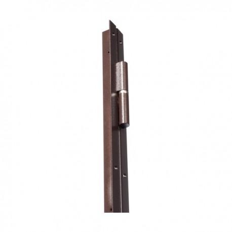 Barre de pivot en fer plat 30x30 mm marron