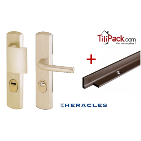 Pack sécurité : Poignée Blindée Héraclès + Cornières anti-pinces