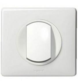 Interrupteur va-et-vient Legrand Céliane - Appareillage complet Blanc encastré