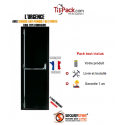 Porte issue de secours, Securystar Urgence, Serrure anti-panique 3 points