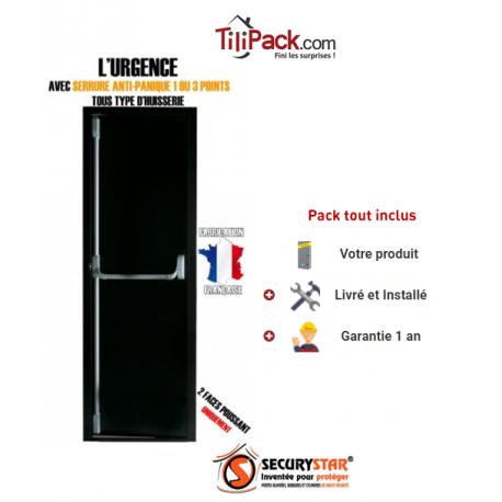 Anti panique stunning dorma kit barre antipanique pha - Porte issue de secours avec barre anti panique ...