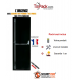 Porte issue de secours, Securystar Urgence, Serrure anti-panique 1 point