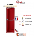 Porte issue de secours, Securystar Sprint, Serrure anti-panique 1 point