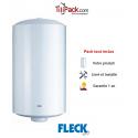 Chauffe-eau électrique 150L Fleck vertical 530 HPC Stéatite