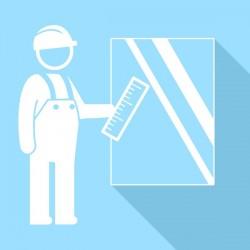 Pack prise de mesures pour vitres et miroirs