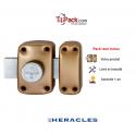 Verrou de sûreté à bouton Héraclès Y8 - Cylindre de 50 mm