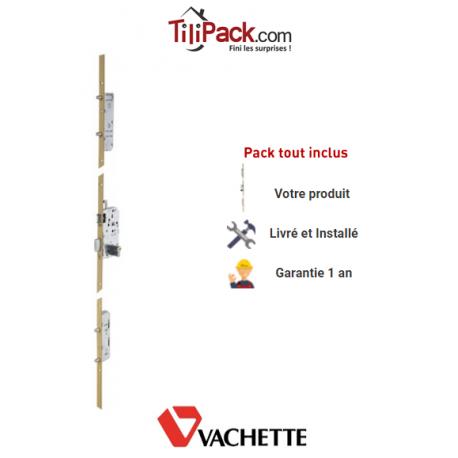 Serrure à mortaiser Vachette Trilock 5900 5 points A2P*** - Entraxe 70 mm - Profil européen