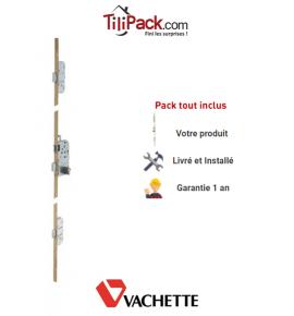 Serrure à mortaiser Vachette Trilock 5000 3 points A2P* - Entraxe 70 mm - Profil européen