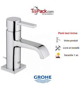 Robinet mitigeur lavabo Grohe Allure