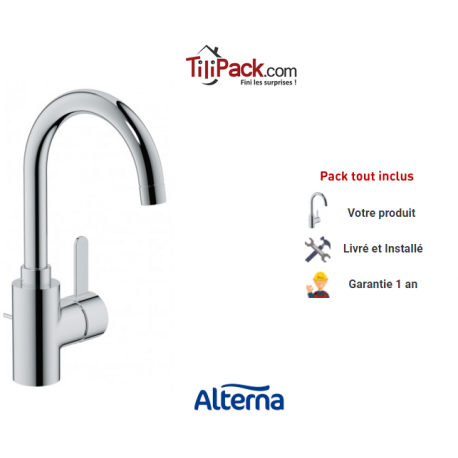 Robinet Mitigeur lavabo Grohe Eurosmart Cosmpolitain
