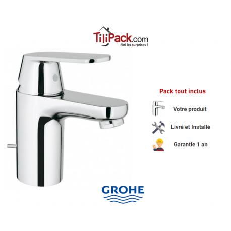 robinet lavabo grohe eurosmart cosmopolitan mitigeur monocommande - Robinet Grohe Eurosmart