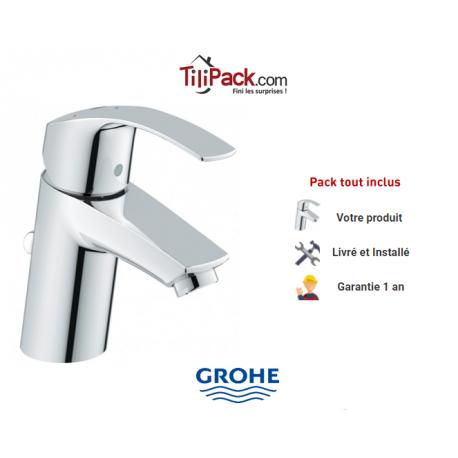 robinet mitigeur pour lavabo grohe eurosmart - Robinet Grohe Eurosmart