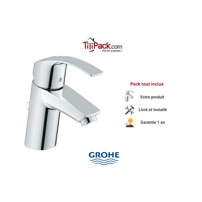 Robinet lavabo grohe eurosmart livr et install en 48h - Mitigeur lavabo grohe eurosmart ...