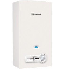 Chauffe-bains ELM leblanc ONDEA compact avec veilleuse, gaz naturel 11 litres