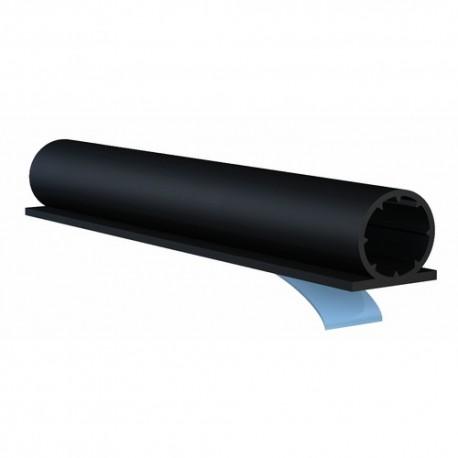 Joint de porte adhésive ELLEN, noir de 7,5m