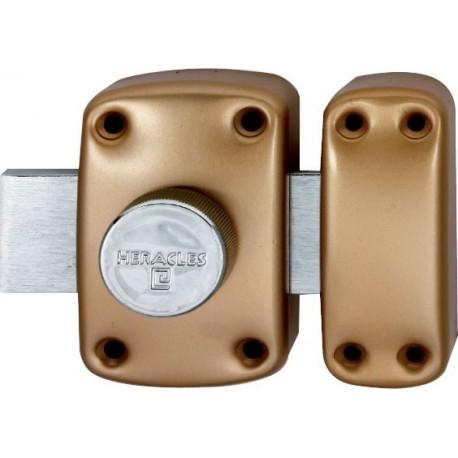 Verrou de sureté à bouton Héraclès Y8 - Cylindre de 50 mm