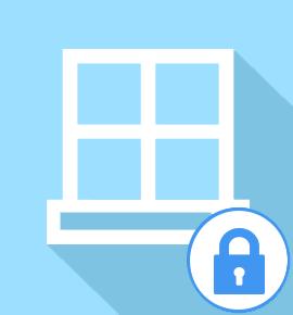 Fermeture provisoire pour fenêtre