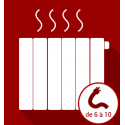 Désembouage du réseau chauffage de 6 à 10 radiateurs