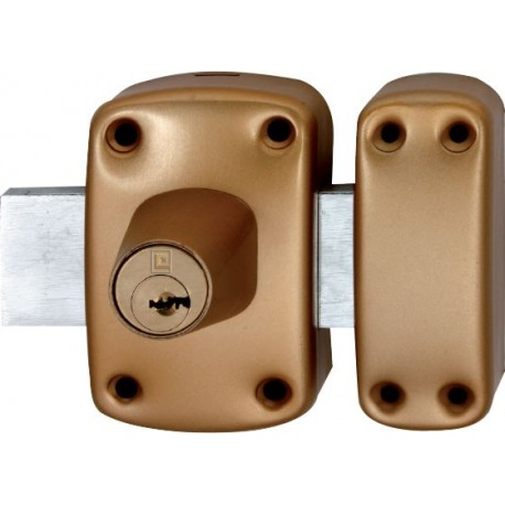 Verrou de sureté à 2 entrées Héraclès Y8 - Cylindre de 45 mm