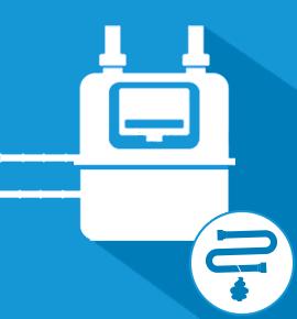Réparation fuite de gaz sur tuyauterie avant compteur
