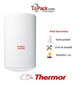 Chauffe-eau électrique Thermor 50L vertical blindé