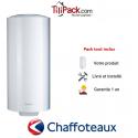 Chauffe-eau électrique Chaffoteaux 100L vertical blindé