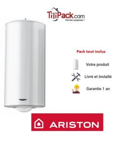 Chauffe-eau électrique Ariston 100L vertical blindé