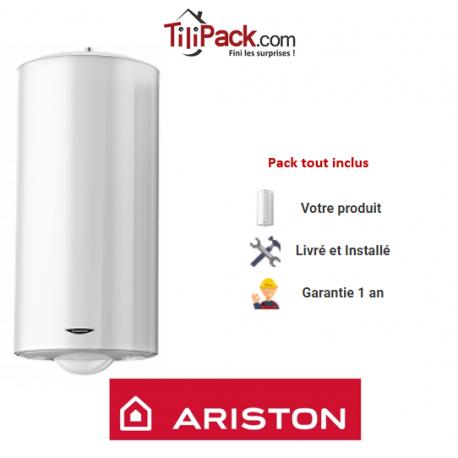 Chauffe-eau électrique Ariston 150L vertical blindé