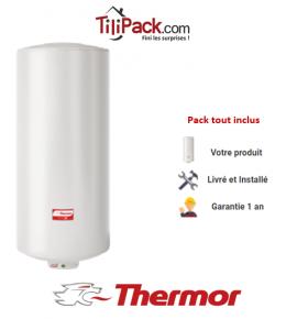 Chauffe-eau électrique Thermor DURALIS 50L vertical stéatite