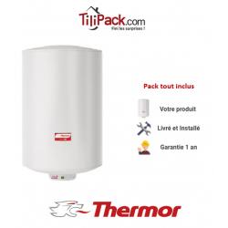 Chauffe-eau électrique Thermor DURALIS D57 150L vertical stéatite - diamètre 57 cm