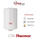 Chauffe-eau électrique Thermor DURALIS D57 200L vertical stéatite - diamètre 57 cm
