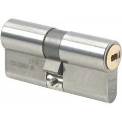 Cylindre de serrure double entrée Vachette Radial NT - Profil Européen 32.5 x 52.5 mm