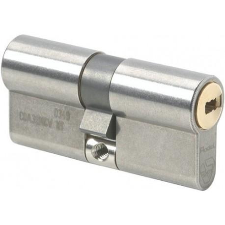 Cylindre de serrure double entrée Vachette Radial NT - Profil Européen 32x52mm