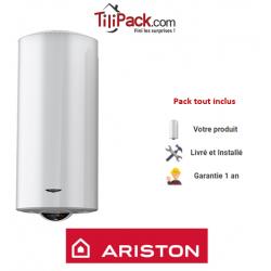 Chauffe-eau électrique Ariston HPC+ 150L vertical stéatite