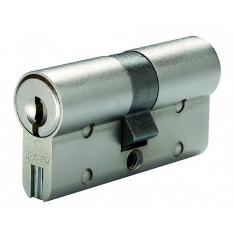Cylindre de serrure double entrée Bricard Chifral S2 - Profil Européen 30x40mm