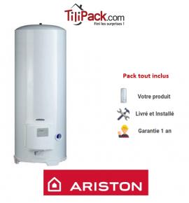 Chauffe-eau électrique Ariston 200L stable blindé - diamètre 56 cm