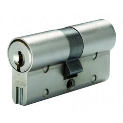 Cylindre de serrure double entrée Bricard Chifral S2 - Profil Européen 30x60mm